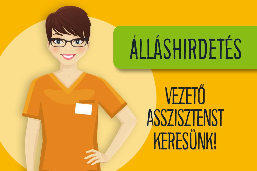Álláslehetőség: Vezető asszisztens